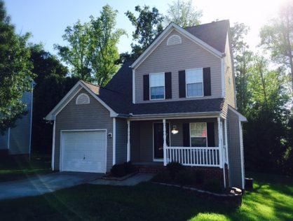 3 Bedroom Home for Rent – University Area Charlotte