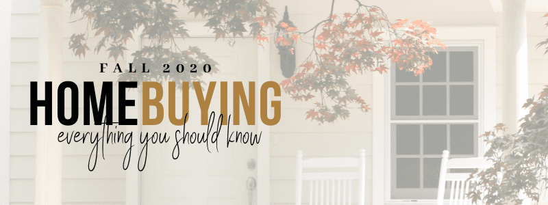 Everything you need to know about buying a home – Fall 2020